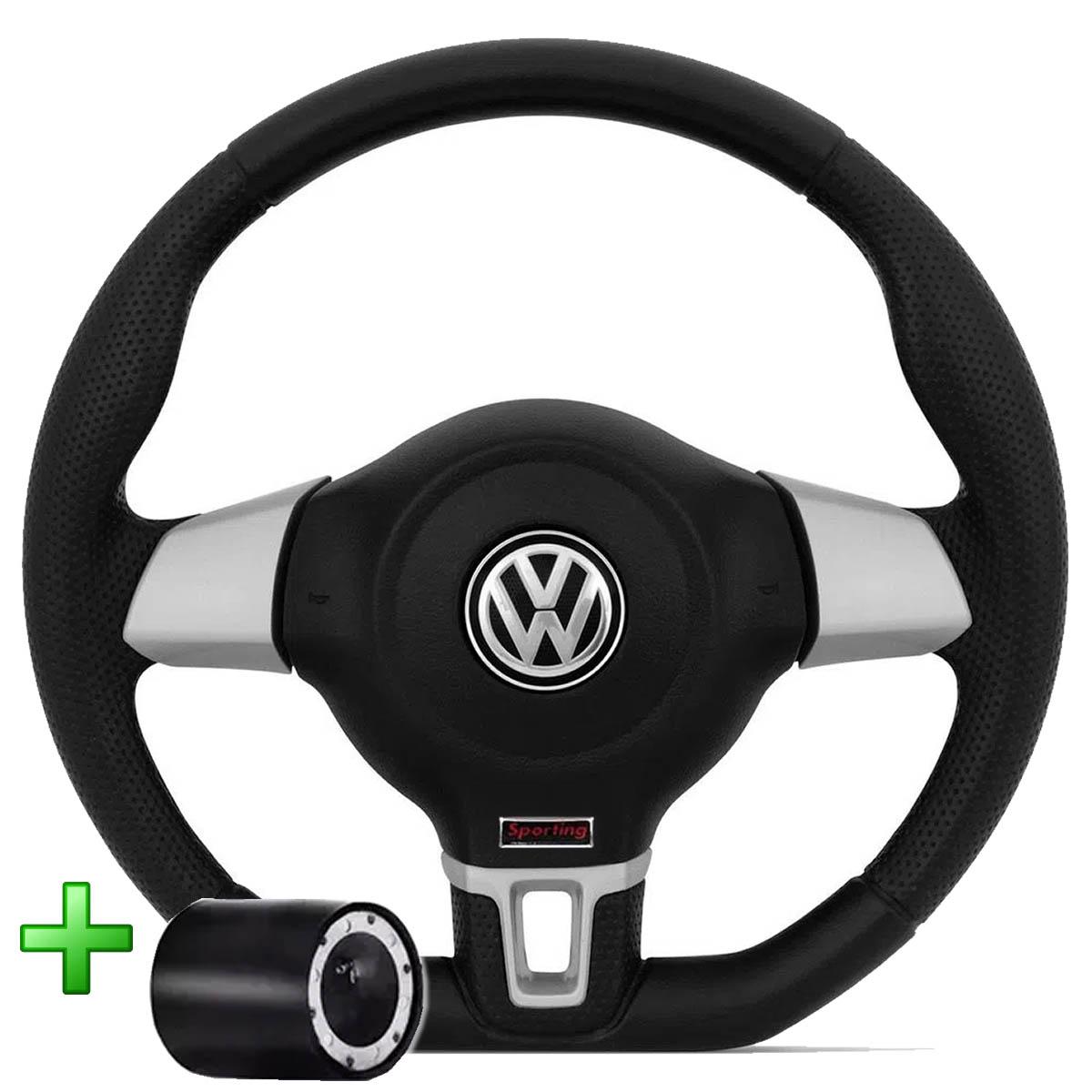 Volante Volkswagen Jetta Base Reta Esportivo Cubo Atacado Poliparts