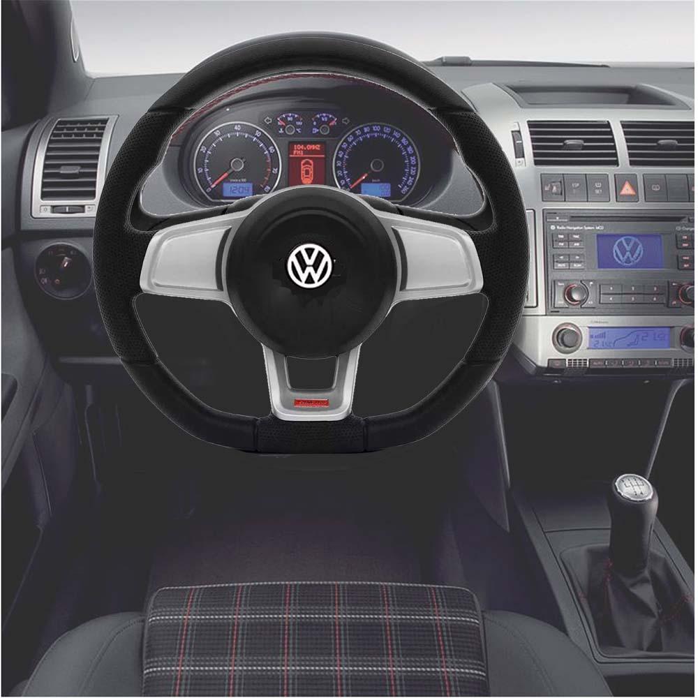 Volante Volkswagen Mk7 Esportivo Cubo Atacado Poliparts