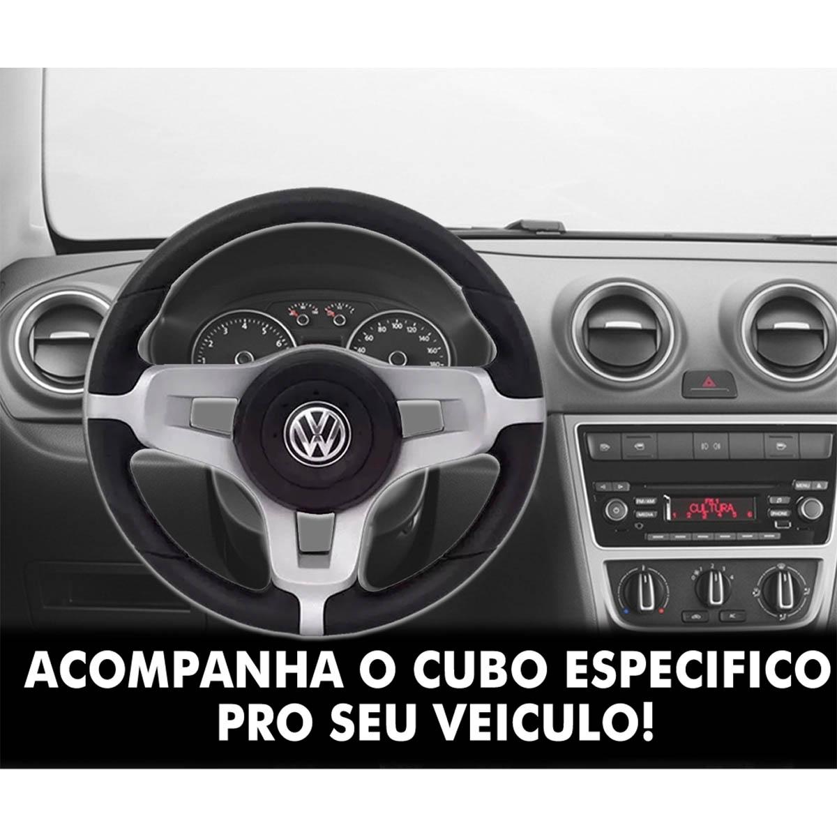 Volante Volkswagen Mustang Esportivo Cubo do Golf Saveiro Parati Voyage Fox Polo Passat Fusca Santana Poliparts