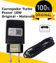 Carregador de parede TurboPower 18W original Motorola BASE USB com CABO DE DADOS Micro USB