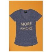 Camiseta More Amore Azul Claro