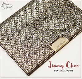 Porta Passaporte Jimmy Choo
