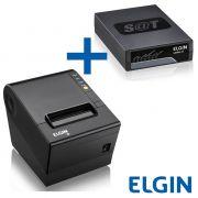 Combo Elgin Sat Fiscal Linker II + Impressora Térmica Não Fiscal I9 Usb c/ Guilhotina