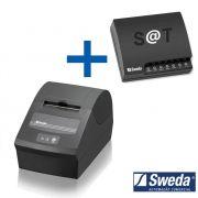 Combo Sweda Sat Fiscal SS1000 + Impressora Térmica SI-150 Não Fiscal USB/Serial c/ Serrilha