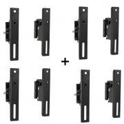 KIt 4 Suporte Universal para TV LCD/Plasma/LED/3D de 14