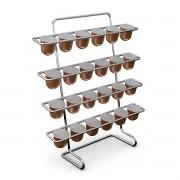 Porta Capsulas Nespresso Suporte p/ Até 20 Capsulas Café/Sabores - Stolf