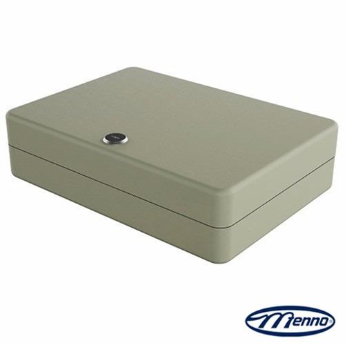 Claviculário Metálico Menno TS24 Porta Chaves p/ 24 Chaves c/ Chaveiros Coloridos