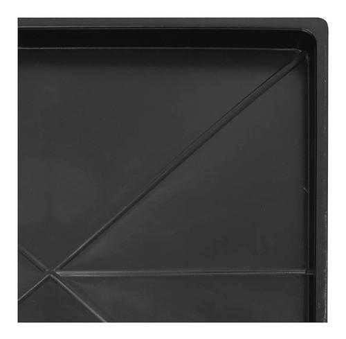 Bandeja p/ Canil Gaiola Duplo 2 Lugares Horizontal Inferior ou Superior 60x56cm - Açomix