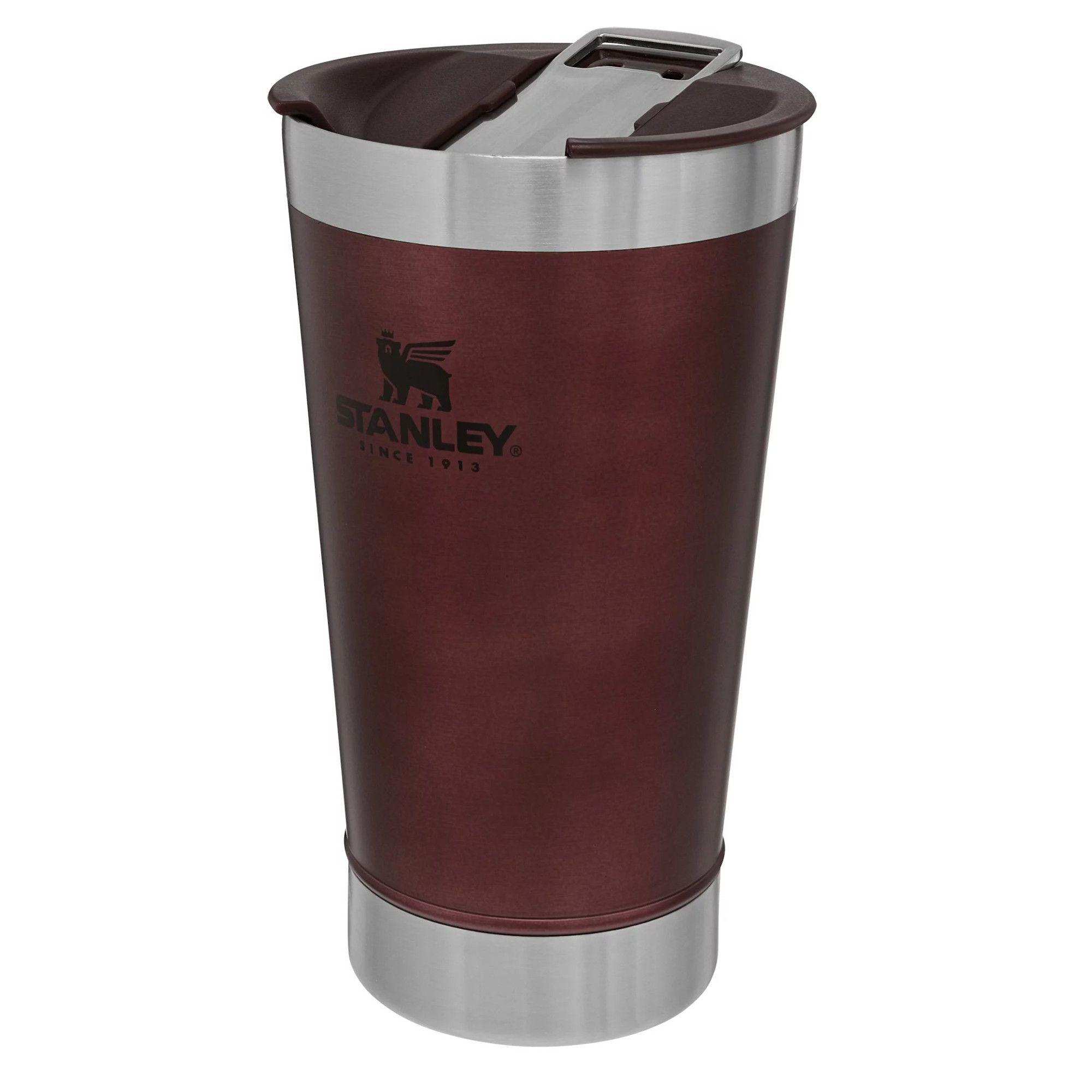 Copo Térmico Frio/Quente de Cerveja 473ml c/ Tampa e Abridor Original - Stanley