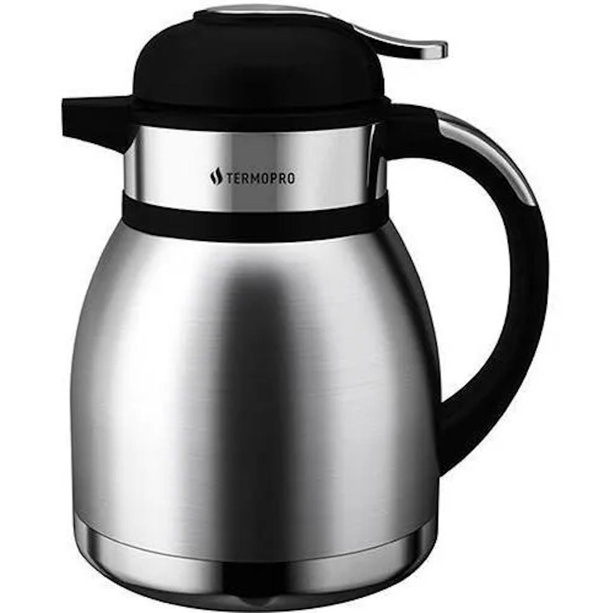 Garrafa Térmica de Café Chá Leite em Aço Inox Begônia 1.2L TP6500 - Termopro
