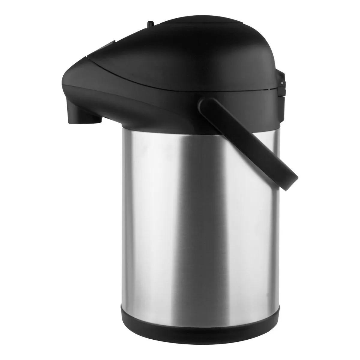 Garrafa Termica de Café Leite Chá em Aço Inox Pressao Trix 3,5 L Tp6505 - Termopro