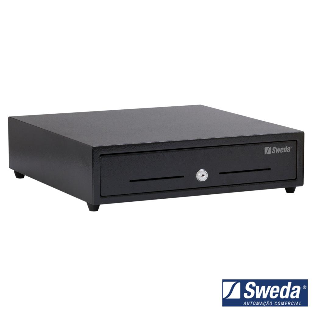Gaveta de Dinheiro PDV Sweda MG4 Automática e Manual