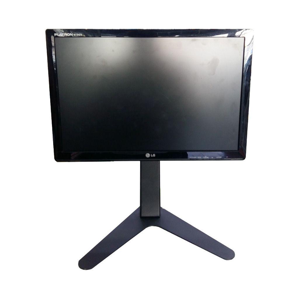 """Kit 2 Suporte de Mesa/Pedestal Ergonômico NR17 p/ Monitor LED/LCD/3D de 10"""" a 24"""" c/ Inclinação MT-SLIM - Multivisão"""