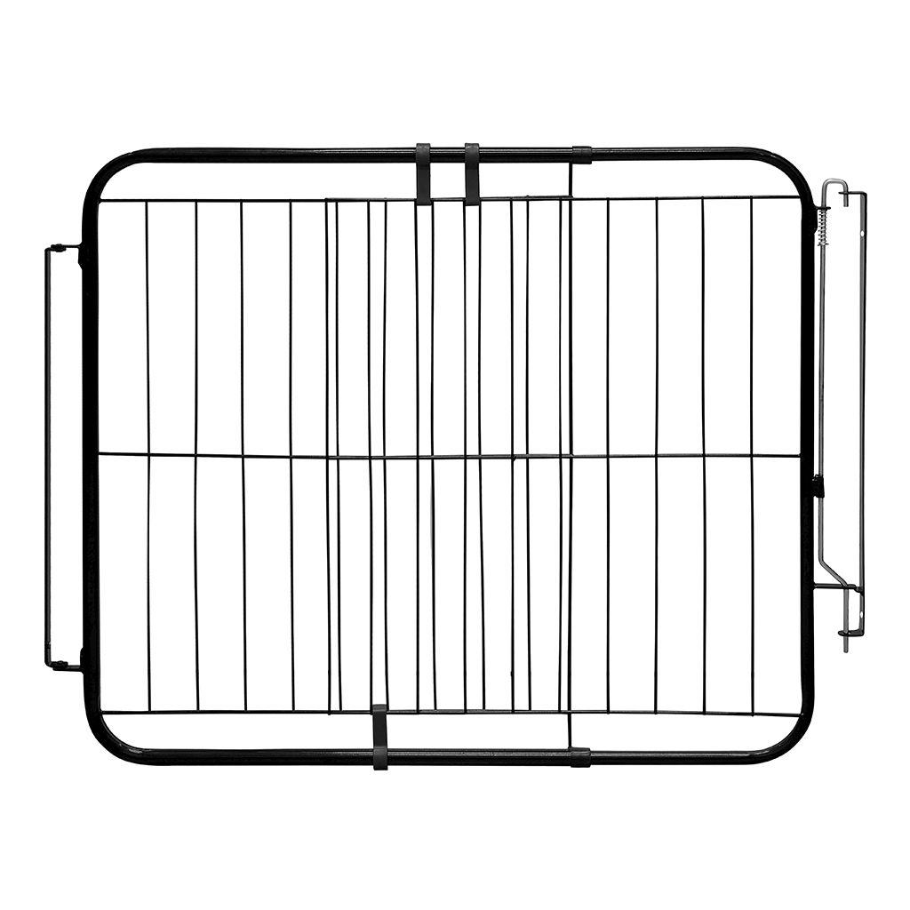 Portão Pet Extensivo 74-115cm c/ Trava de Segurança p/ Cachorros - Açomix