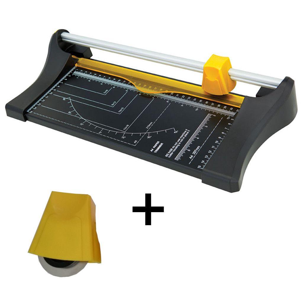 Refiladora de Papel Compacta A4 Corta Até 10 Folhas de 75g + Cabeçote de Reposição Extra - Menno
