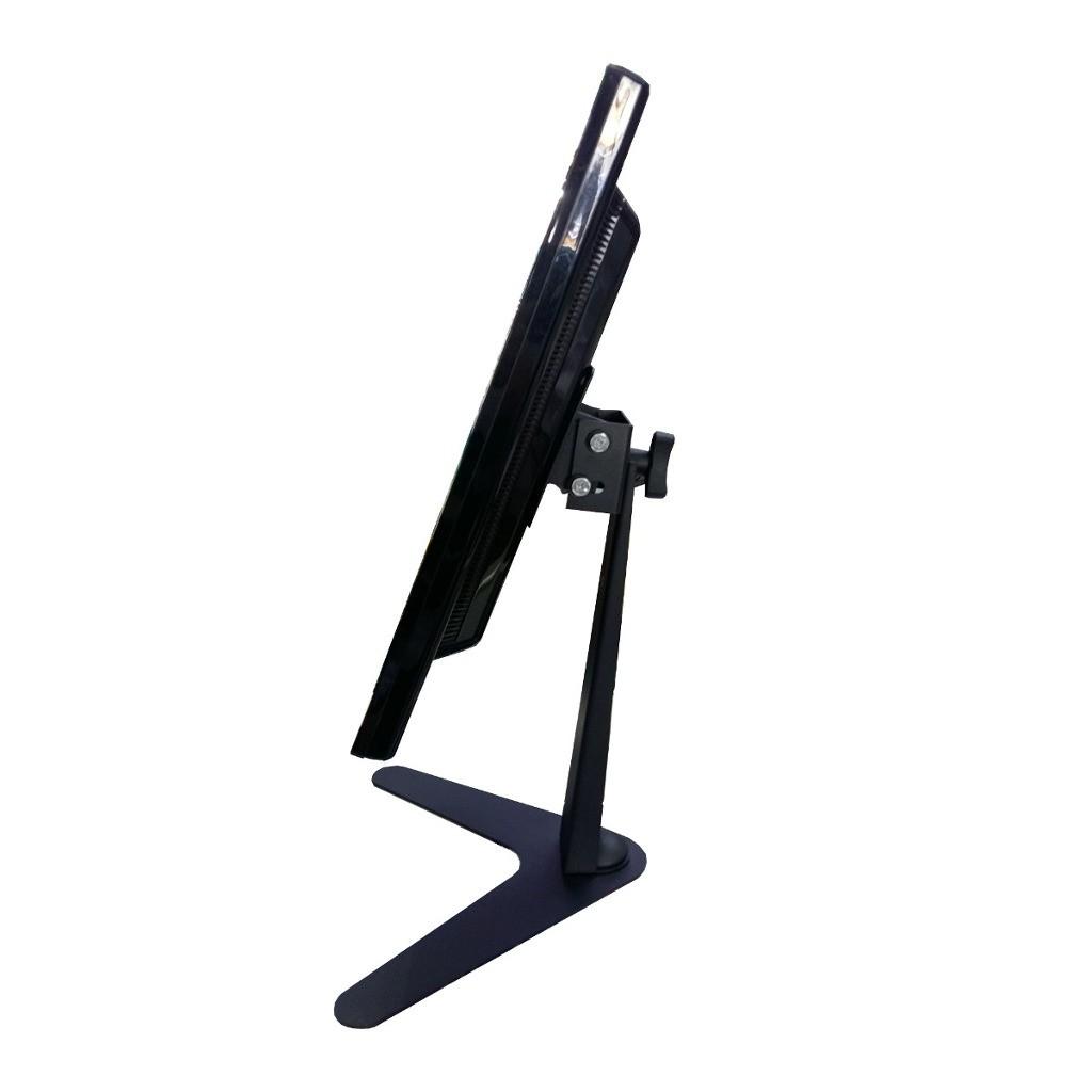 """Suporte de Mesa/Pedestal Ergonômico NR17 p/ Monitor LED/LCD/3D de 10"""" a 24"""" c/ Inclinação MT-SLIM - Multivisão"""
