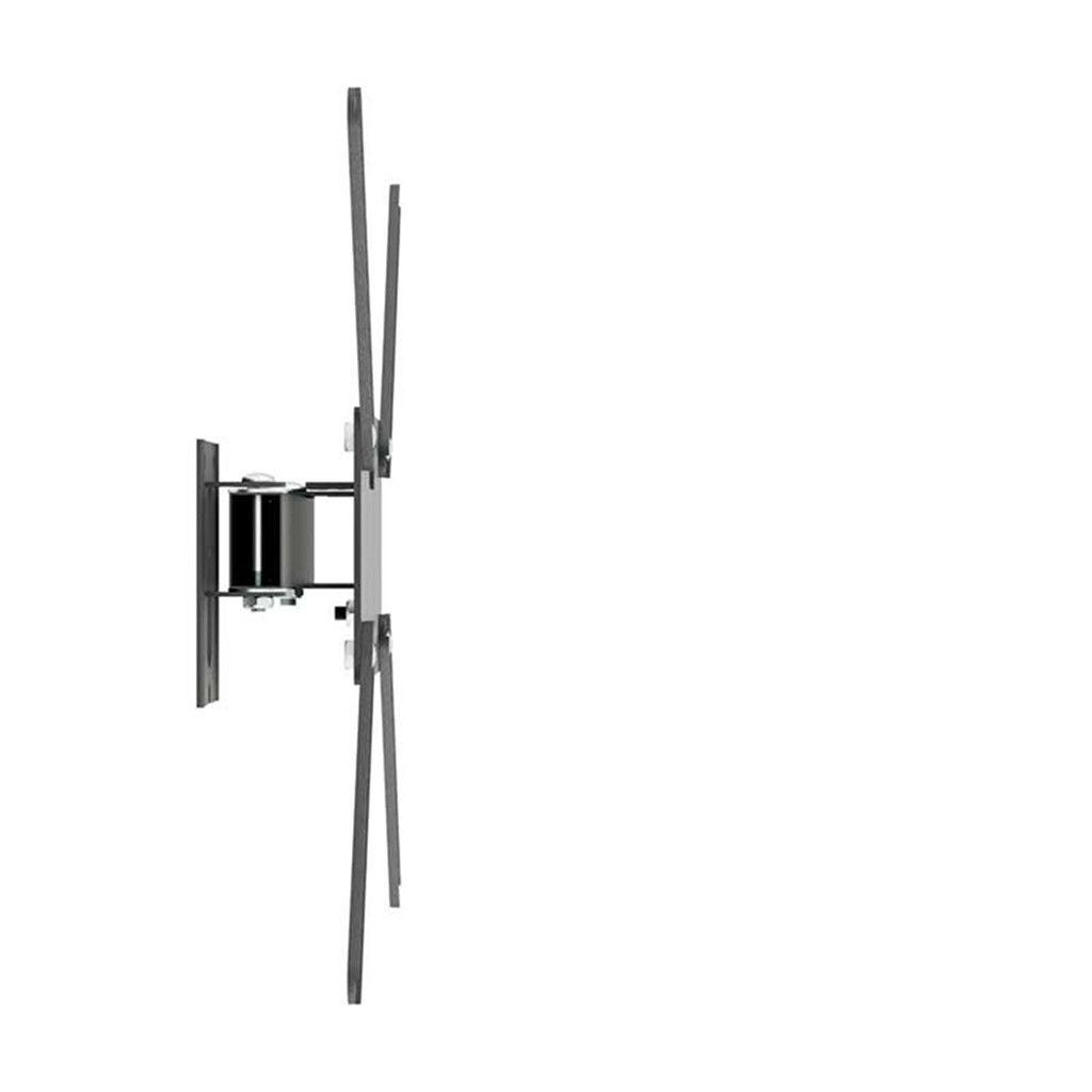 """Suporte TV Articulado c/ Inclinação LED/LCD de 14"""" a 56"""" M2 Preto - Multivisão"""