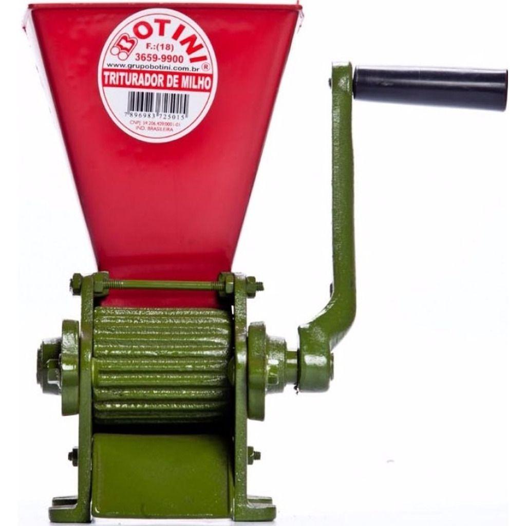 Triturador Manual de Milho para Grão Maduro/Seco c/ Regulagem - Botini