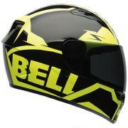 Capacete Bell Qualifier Momentum Hi-vis Preto E Amarelo