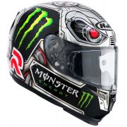 Capacete HJC RPHA-10 PLUS - Speed Machine Réplica Jorge Lorenzo
