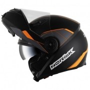 Capacete Norisk FF370 Midnight Black/Orange