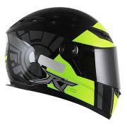 Capacete Race Tech 501 RT501 Racing Project - Amarelo