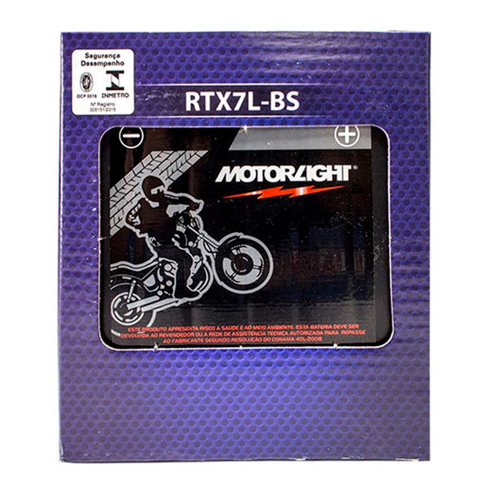 BAT MOTORLIGHT MTX7L-BS TWISTER