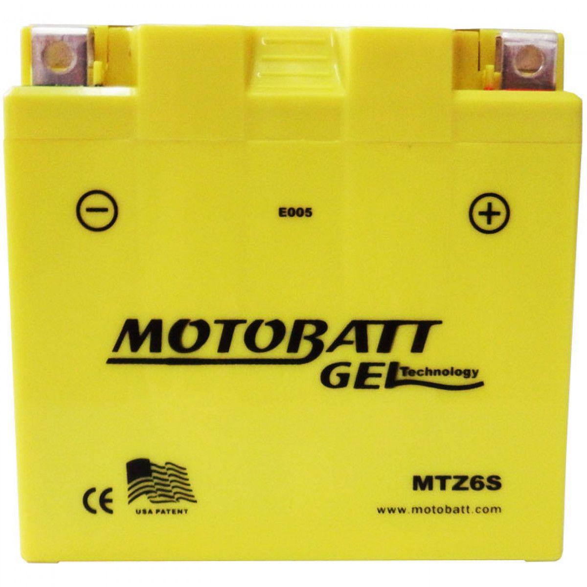 Bateria Bros 125 150 Motobatt Gel Mtz6s Honda Xre 300