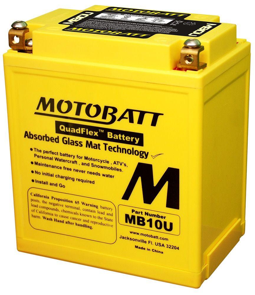 Bateria De Gel Motobatt Mb10u 10ah Suzuki Gs500 / Gs500