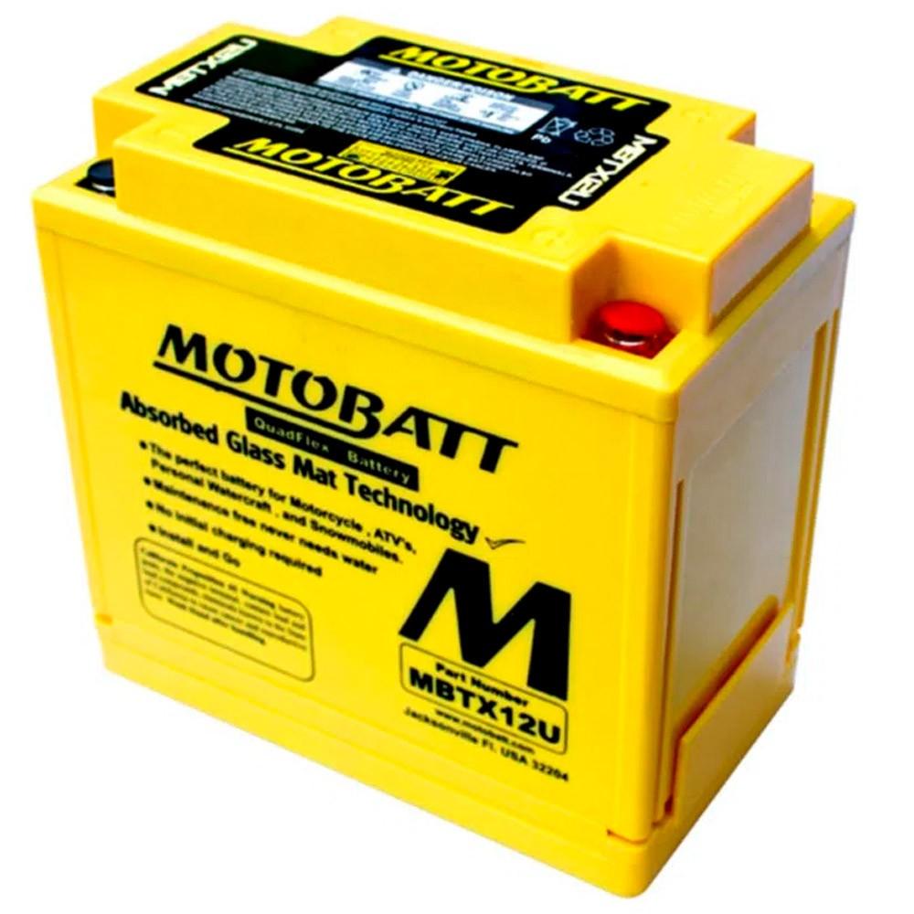 Bateria Motobatt MBTX12U - BMW 800 e 1200, Harley Davidson