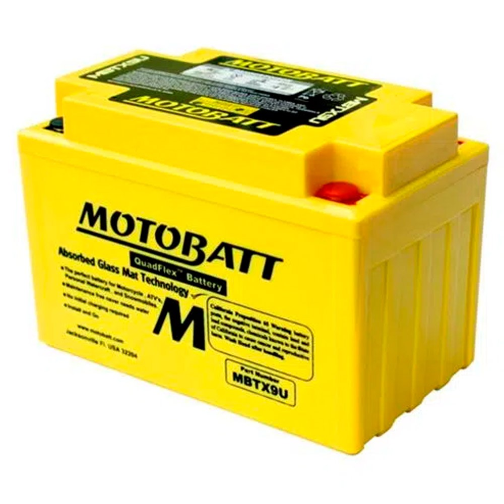 Bateria Motobatt MBTX9U - CB 500, NC 750, Ninja 300, XT 1200