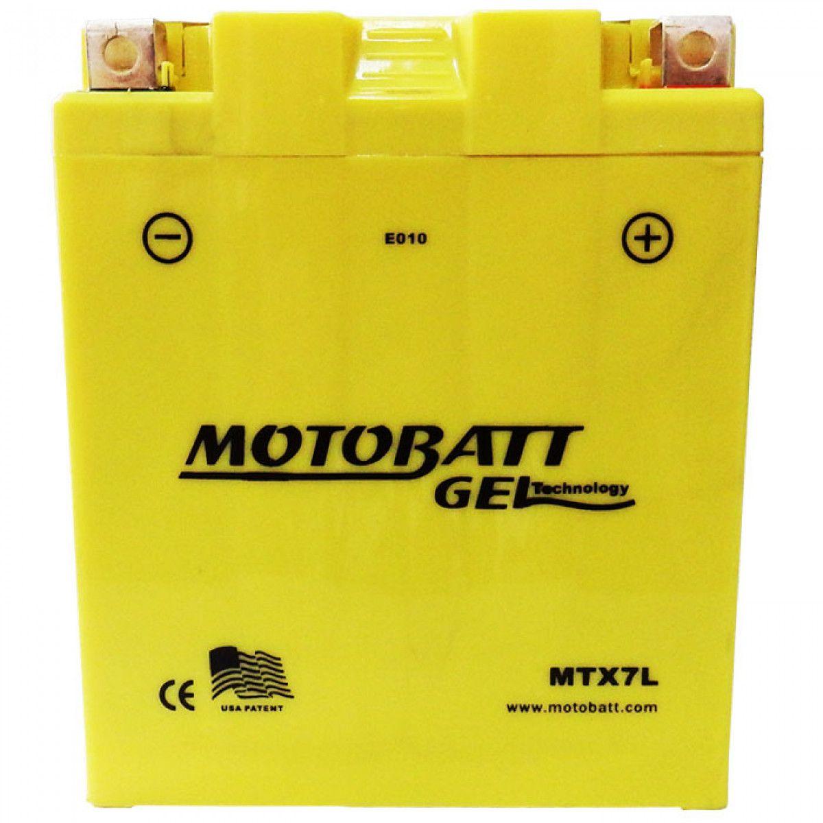 Bateria Motobatt Mtx7l Falcon Twister Hornet 06-07