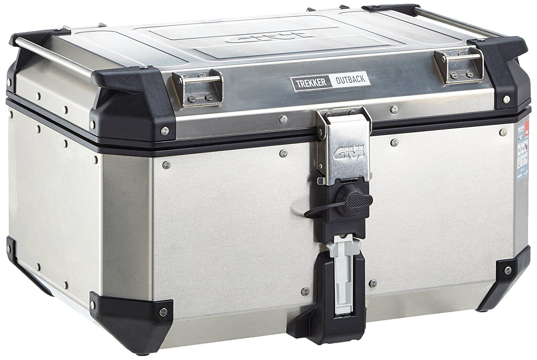 Bau Givi OBK58A Outback 58L Aluminio Polido (traseiro)