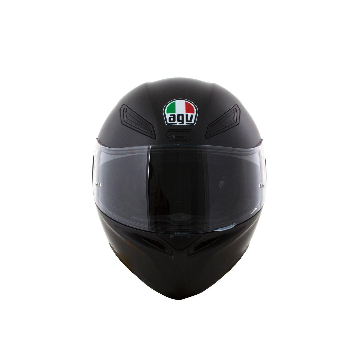 Capacete AGV K1 Mono Preto Fosco