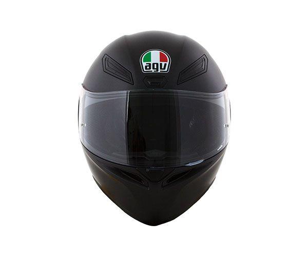 CAPACETE AGV K1 MONOCOLOR PRETO FOSCO