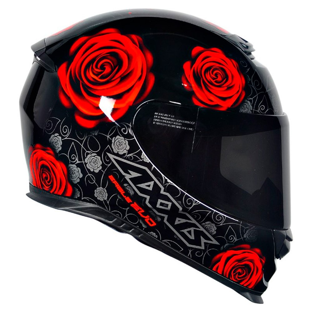Capacete Axxis Eagle Evo Flowers New Gloss