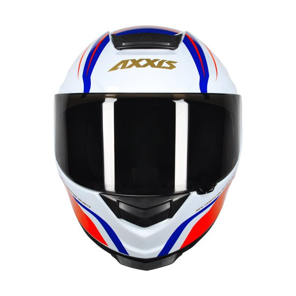 CAPACETE - AXXIS EAGLE HYBRID WHITE-BLUE-RED