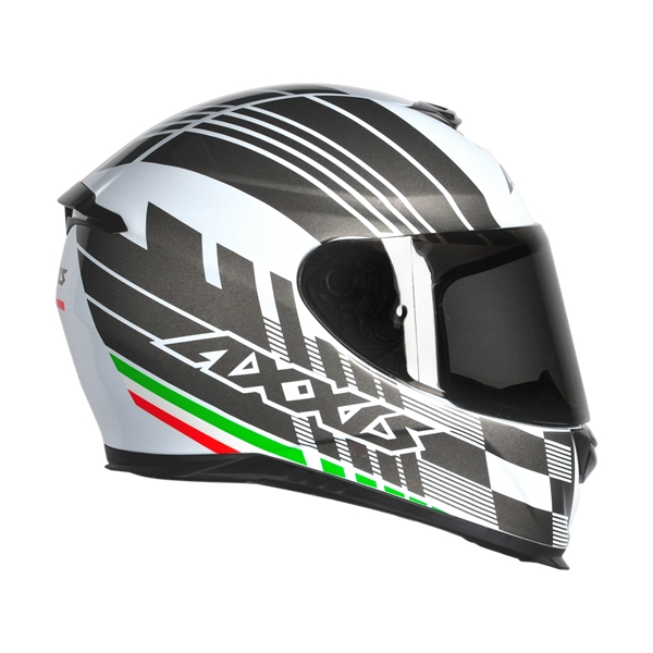 CAPACETE - AXXIS EAGLE ITALY WHITE