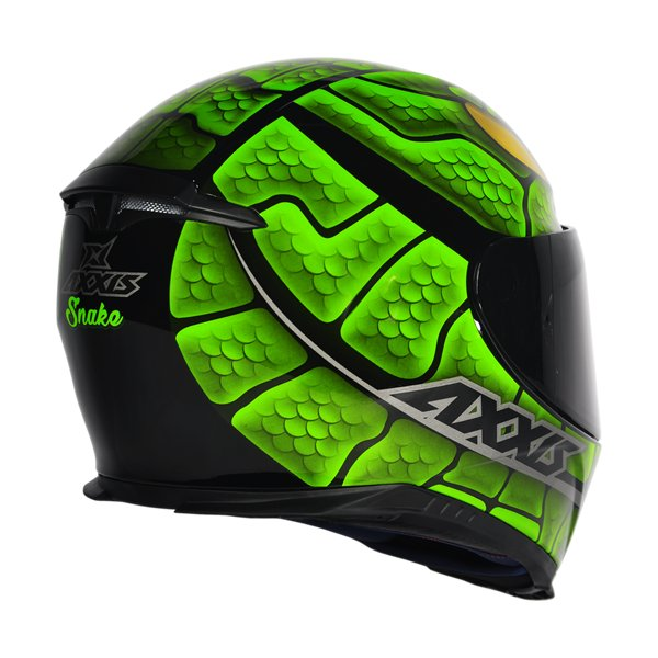 CAPACETE - AXXIS EAGLE SNAKE-GREEN