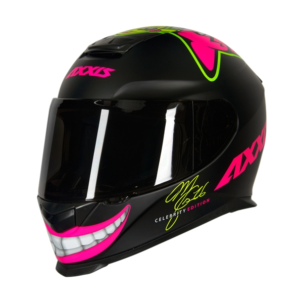 CAPACETE - AXXIS EAGLE MG16 CELEBRITY EDITION by MARIANNY