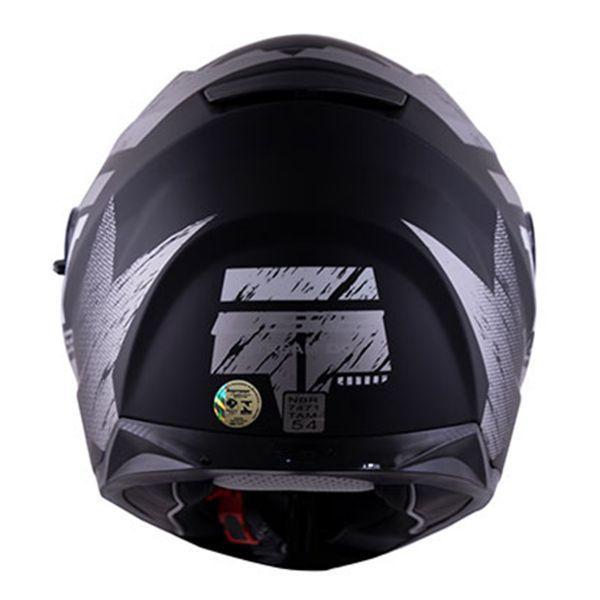CAPACETE LS2 FF320 STREAM HUNTER MATTE BLK/TITANIUM