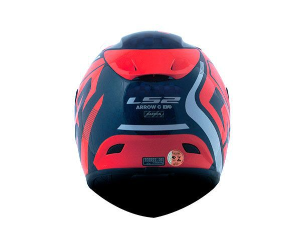 Capacete Ls2 Ff323 Arrow C Evo Sting Vermelho Full Carbon