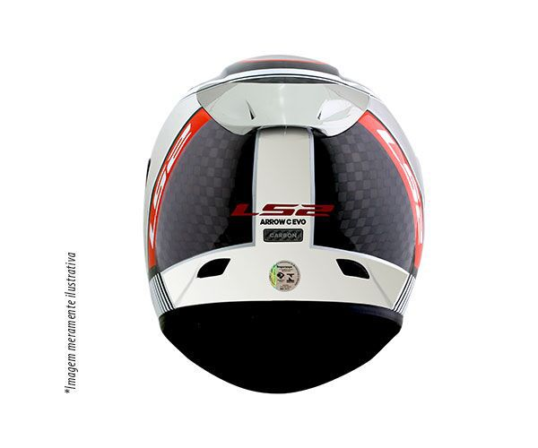 Capacete LS2 FF323 Arrow C Indy Full Carbon