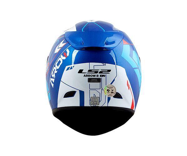 Capacete LS2 FF323 Arrow R EVO Tecno Azul - Tricomposto