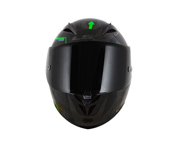 Capacete LS2 FF323 Arrow R EVO Tecno Preto/Verde - Tricomposto