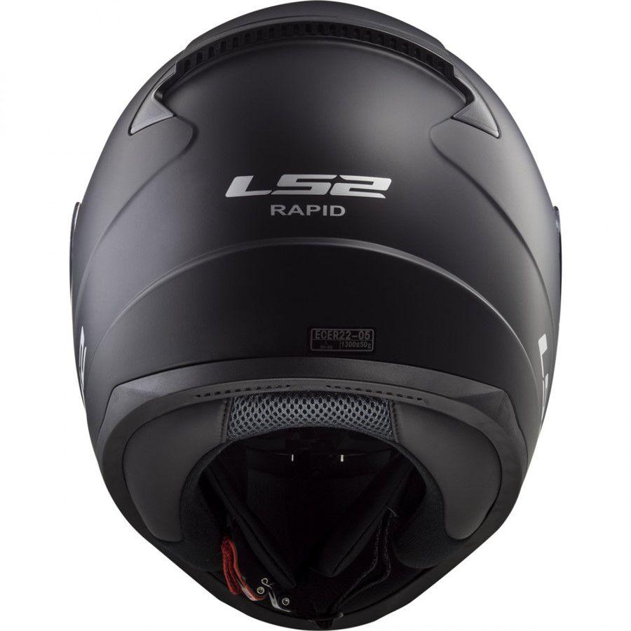 Capacete LS2 FF353 Rapid Preto Fosco novo