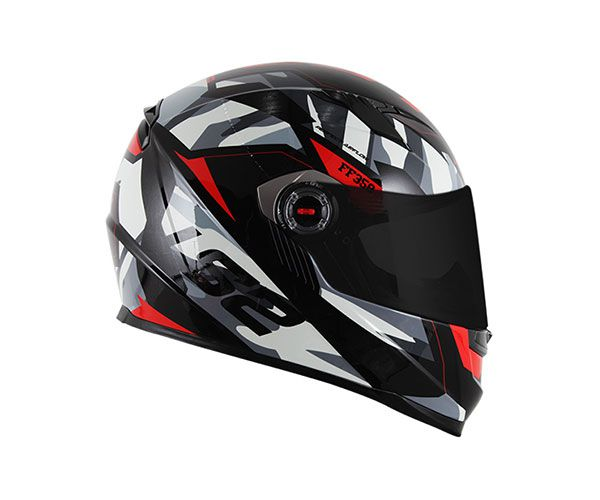 CAPACETE LS2 FF358 TANK CAM/BLK/RED