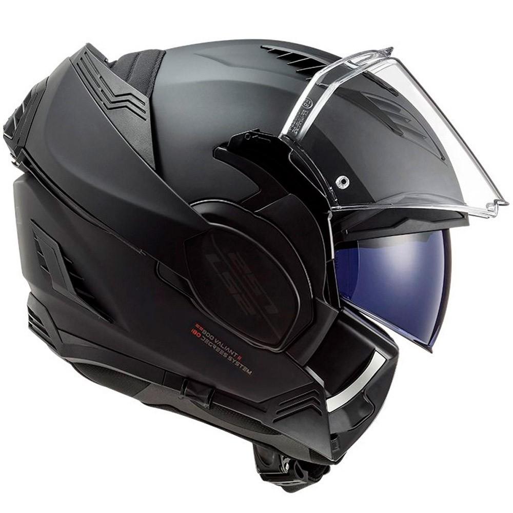Capacete LS2 Valiant 2 FF900 Noir Preto Fosco