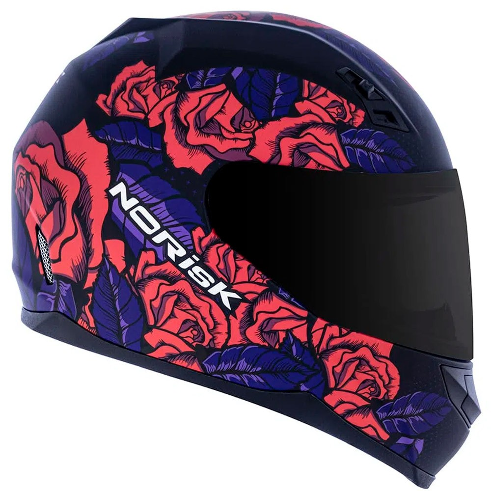 Capacete Norisk FF391 Bed Of Roses