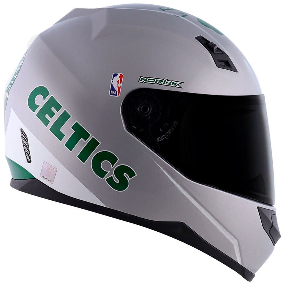 Capacete Norisk FF391 NBA Boston Celtics Silver